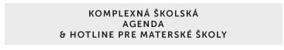 Komplexná školská agenda